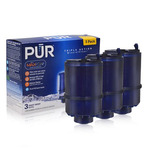 pur water filter sink adapter replacement new household water purifiers activated carbon rf 9999 pur