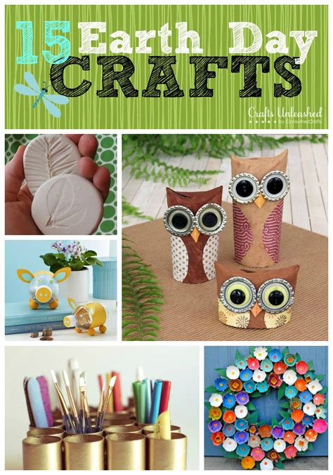 recycled crafts  earth day  ideas crafts unleashed