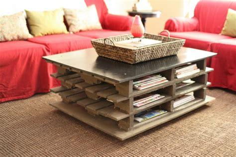 fabriquer canapé d angle la table basse palette 60 idées créatives pour la
