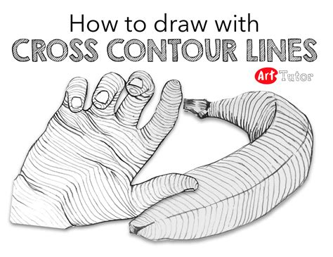 cross contour drawing exercises  great  helping