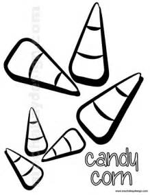 Halloween Candy Corn Coloring Pages Printable