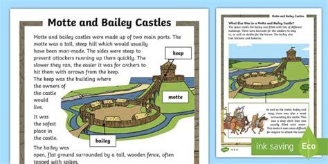 ks motte  bailey differentiated fact file ks history