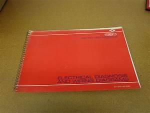 1993 Chevrolet Astro Van Minivan Electrical Wiring