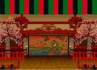 Samurai Shodown Stage Kabuki Stages Animated Iii