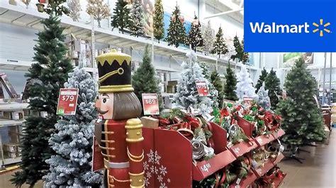 christmas  section  walmart christmas trees