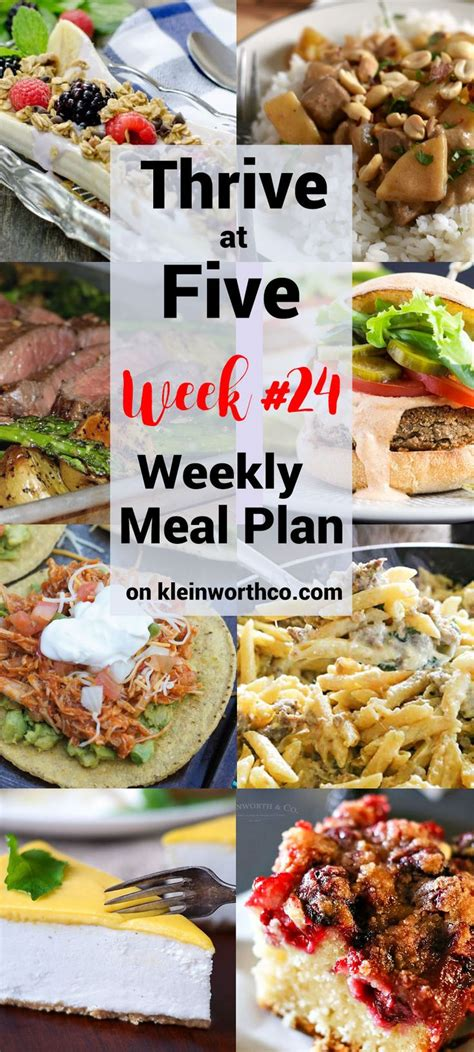 simple evening meal ideas 1505 best images about best of kleinworth co on pinterest frozen yogurt weekly meal plans