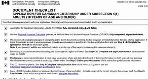 Citizenship guide vs document checklist british expats for Document checklist canadian citizenship