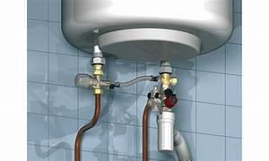 Raccordement Electrique Chauffe Eau : kit de securite sfr chauffe eau avec groupe de securite mitigeur thermostatique et flexible ~ Nature-et-papiers.com Idées de Décoration
