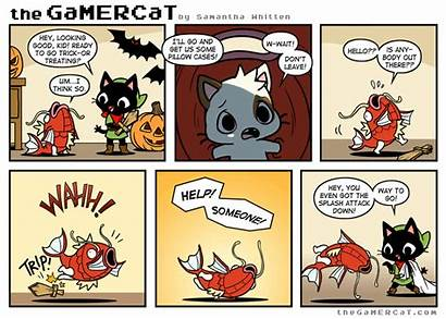 Gamercat Gamer Cat Splash Making Comic Comics