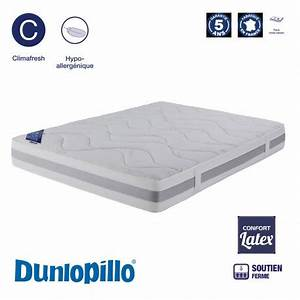 dunlopillo matelas latex maison design wibliacom With chambre design avec matelas latex 160x200 cm dunlopillo grand casino