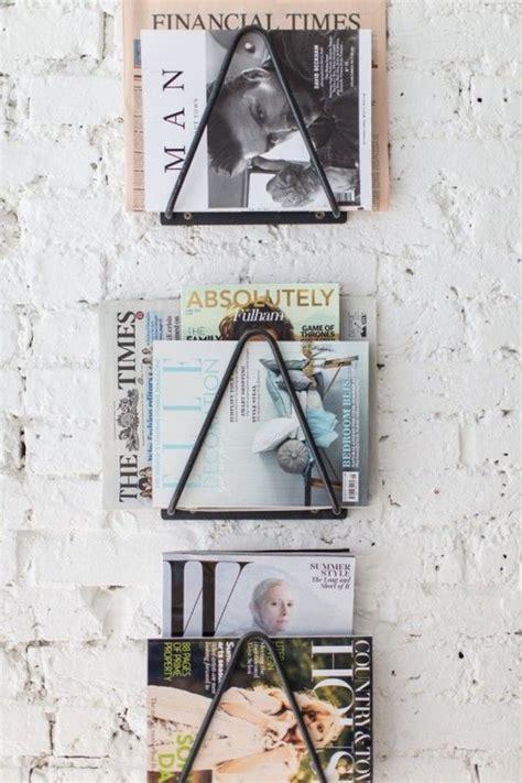 genius diy magazine rack ideas homemydesign