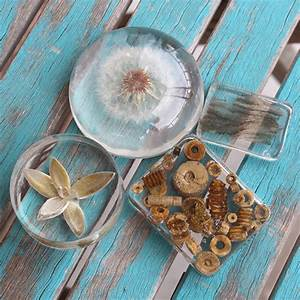 Diy, Clear, Casting, Resin, Paperweights