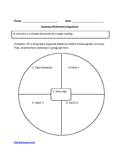images  high school graphic organizer worksheets