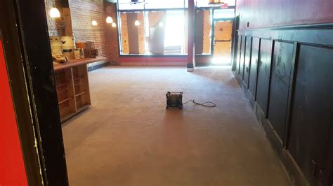 epoxy flooring restaurant the provincial restuarant new metallic epoxy floor project in apex nc witcraft decorative