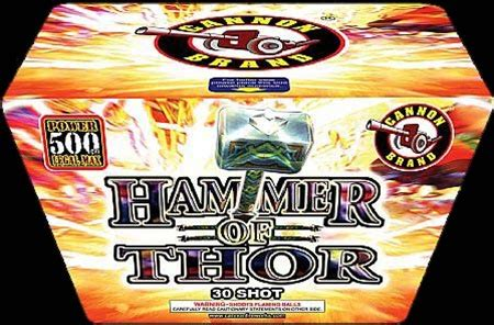 hammer of thor 30 shots new cannon