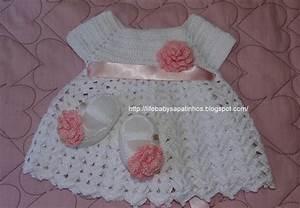 Patron robe bebe crochet gratuit for Patron robe bébé gratuit