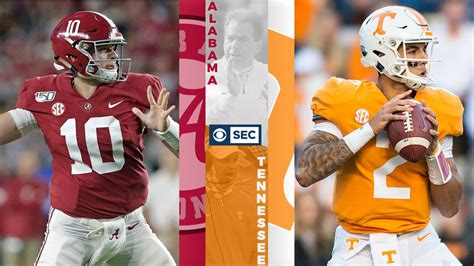 alabama  tennessee sec game   week stat primer