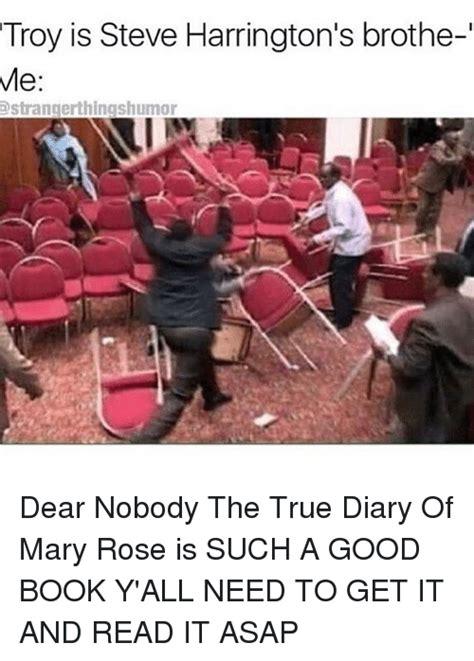 Steve Harrington Memes - 25 best memes about mary rose mary rose memes