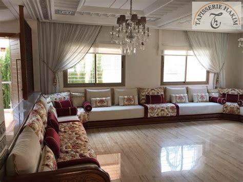 galerie de modeles de salon marocain   en