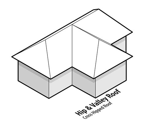 Hip And Valley Roof Construction by 15 Types Of Roofs For Houses With Illustrations