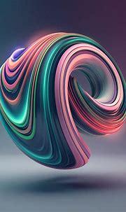 bb02-digital-art-color-circle-illustration-art-3d-green ...