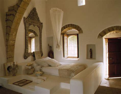 une chambre orientale dans un palais libanais