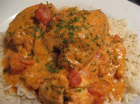 cuisiner haut de cuisse de poulet recettes de flipp cuisses de poulet mijotées en sauce crémeuse au cari
