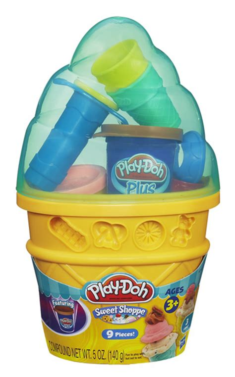 play doh 24 pots play doh sweet shoppe mini cone container 3 pots of play doh acessories new ebay