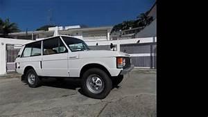Restoration Range Rover Classic 1978