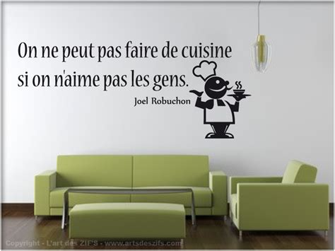 stickers cuisine citation stickers muraux citations cuisine images