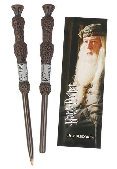 barnes and noble harry potter harry potter dumbledore wand pen and bookmark set