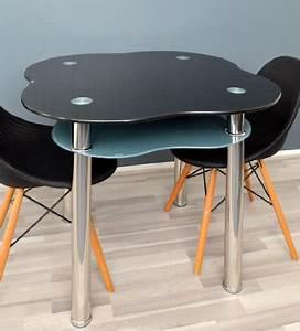 Table De Cuisine Grise : table de verre table manger table manger noir et gris table de cuisine en acier inoxydable ~ Dode.kayakingforconservation.com Idées de Décoration