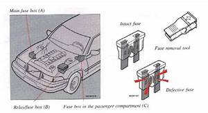 Volvo 960  1995 - 1997  - Fuse Box Diagram