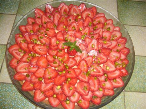 tarte aux fraises et 224 la pistache tea time gourmand