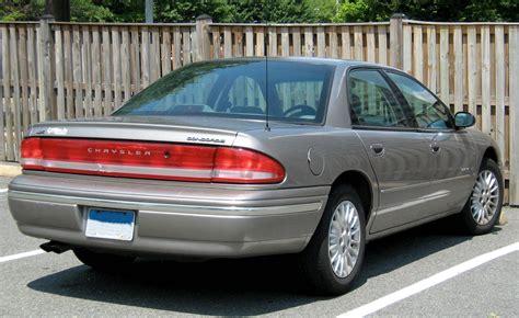 Chrysler Concorde Mpg by 1993 Chrysler Concorde Base Sedan 3 3l V6 Auto