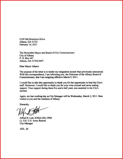 in your letter formal resignation letter apa exle