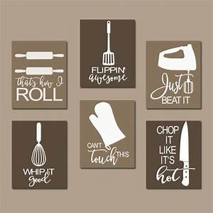 kitchen quote wall art funny utensil pictures canvas by With kitchen colors with white cabinets with sticker wall art quotes