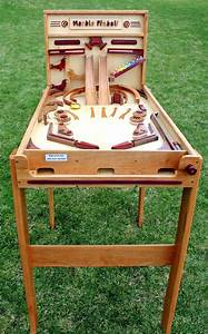 Marble Pinball Machine Woodworking Plan - Forest Street