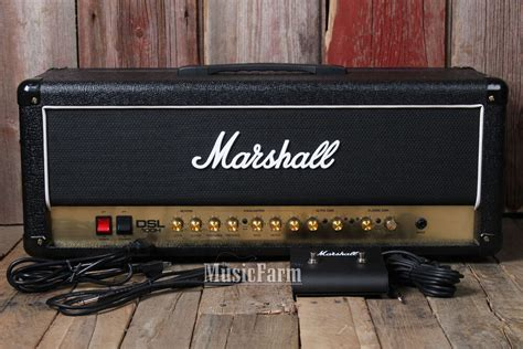 Marshall Dsl100h Electric Guitar Amplifier Head 100 Watt