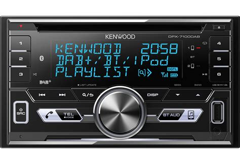 autoradio bluetooth dab kenwood dpx 7100dab 2din bluetooth dab digitalradio usb cd mp3 autoradio