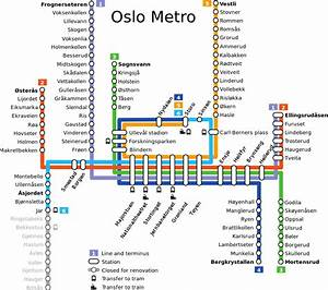 File Oslo Metro Diagram 2010 Svg
