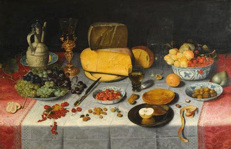 glorious table food  drink  european baroque