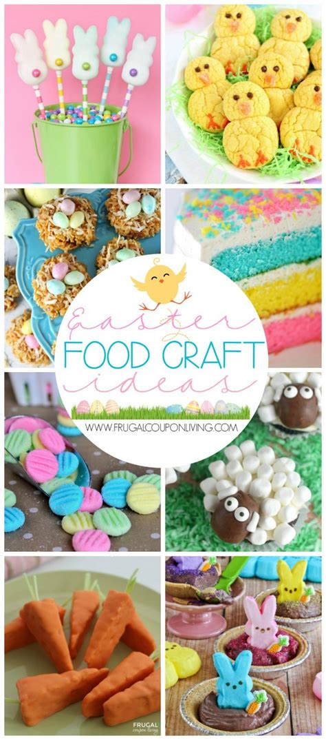 craft food ideas easter food craft ideas for the 1499