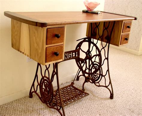 sewing machine desk ideas my wife s sewing table louis fry a furniture maker 39 s blog