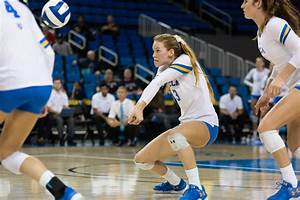 UCLA women's volleyball takes down Arizona in four sets ...