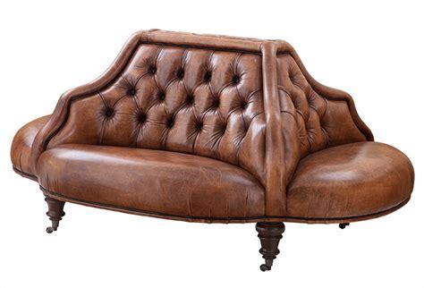 vintage sofa leder casa padrino luxus echt leder sofa vintage leder tobacco braun 4 seitig luxus hotel club sofa