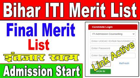 We did not find results for: Bihar ITI Merit List 2021 (BCECEB)    ITI Seat Allotment 2021 » Result Bihar