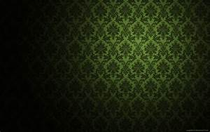 Dark Green Damask Wallpaper - HD Wallpapers Blog
