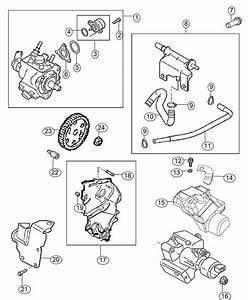 2016 Jeep Cherokee Pump  Fuel Injection  Export