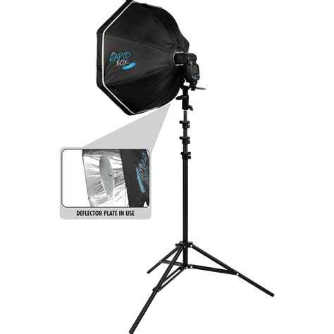 westcott rapid box  octa speedlite kit  bh photo